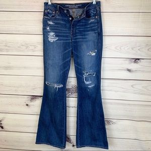 AMERICAN EAGLE OUTFITTERS Vintage Hi-Rise Flare